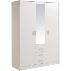 Šatní skříň bílá