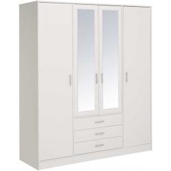 Šatní skříně bílé