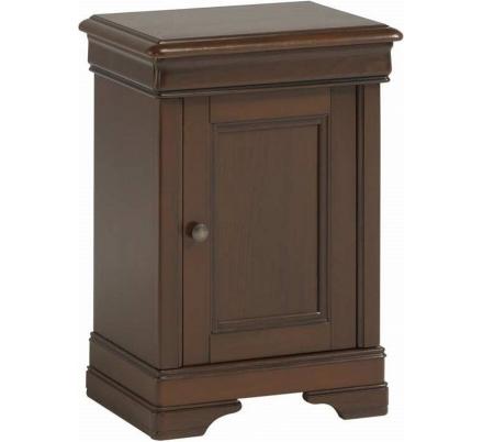 Rustikální noční stolek Monica - ořech