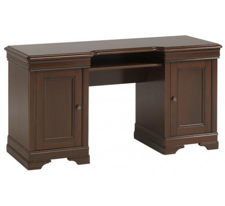 Rustikální psací stůl Monica - ořech