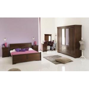 Rustikální ložnice Monica, Velikost postele 160x200