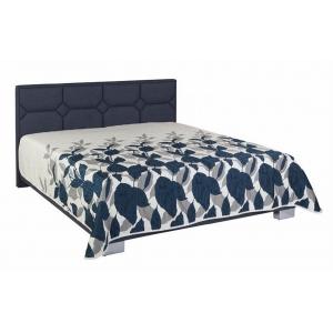 Čalouněná postel DORIS, Velikost postele 160x200, Varianta matrace MEDICFLEX , Denní deka ano, Rošt R1