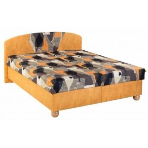 Čalouněná postel KLÁRA, Velikost postele 160x200, Varianta matrace Standart PLUS
