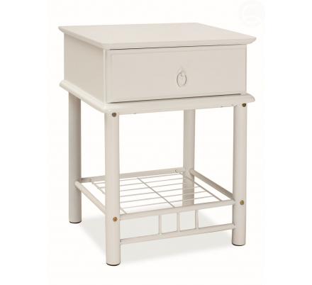Noční stolek K205 bílý