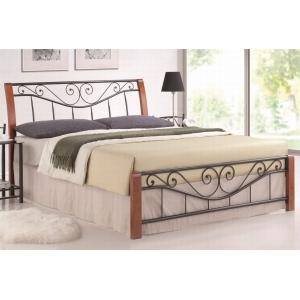 Postel kov K04 třešeň, Velikost postele 160x200