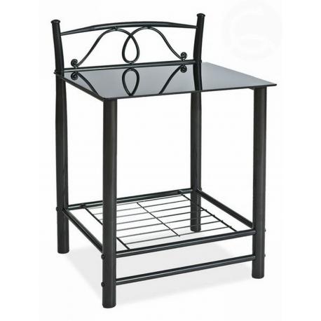 Noční stolek K207 černý