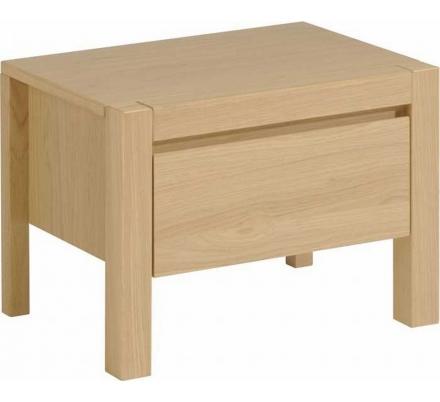 Noční stolek Lump 1 - dub přírodní