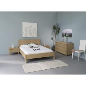 Ložnice z masivu Lump, Velikost postele 160x200