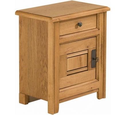 Noční stolek dub
