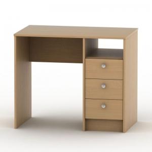PC stůl SK 021 - více odstínů, Barva buk, Provedení bez výsuvu na klávesnici