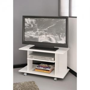 Televizní stolek Polino- bílá