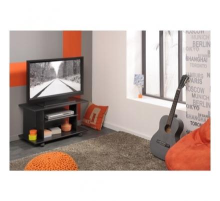 Televizní stolek Polino- černá