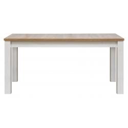 Jídelní stůl s rozkládáním ED - modřín sibiřský/dub