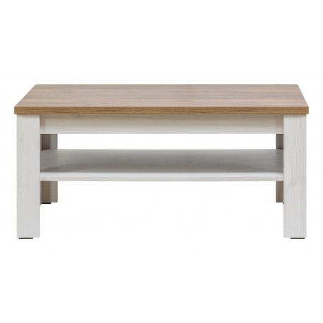 Konferenční stolek ED - modřín sibiřský/dub