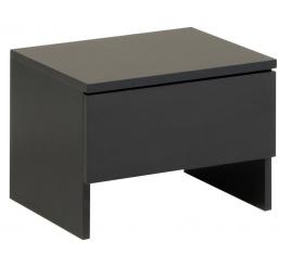 Noční stolek černý