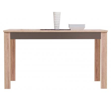 Jídelní stůl s rozkládáním SAP - dub sanremo/latte