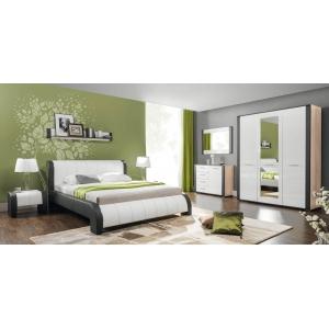 Čalouněná postel NALA s roštem - 160x200cm