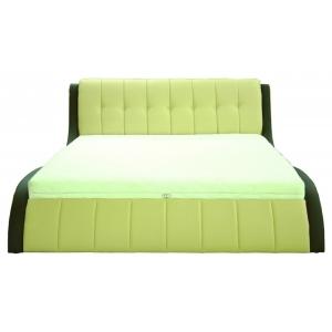 Čalouněná postel NICK II 160x200cm, Provedení s úložným prostorem