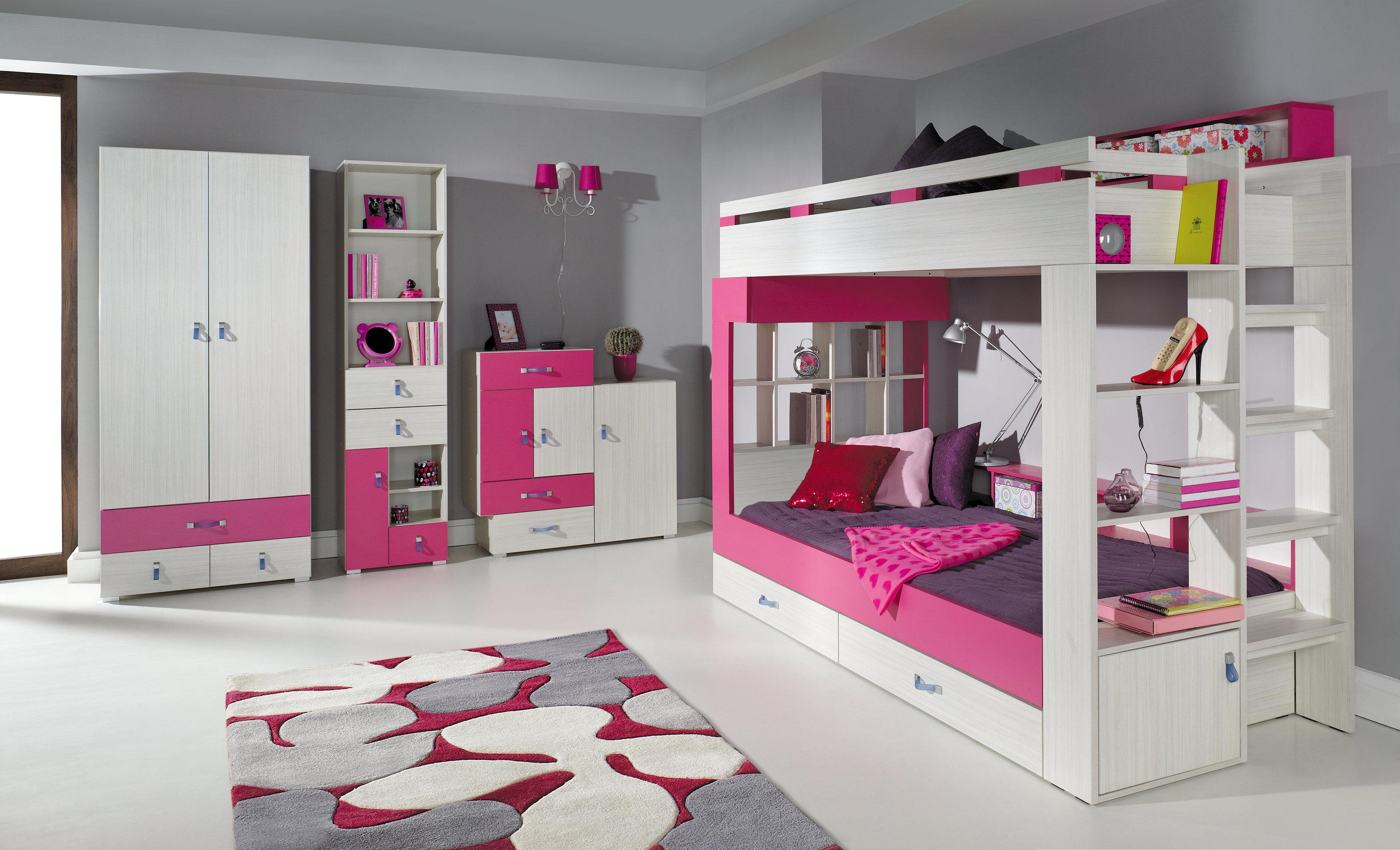 patrová postel pro děti Adéla